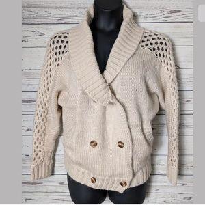 *3/25 Love Stitch Cardigan Sweater M Oversized